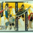 JUMP FESTA 2001 Shaman King Figure PINS SET Badge