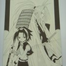 Japanese Shaman King Doujin Fanart Double Sided Letter Paper Writing Paper x2 pages H009