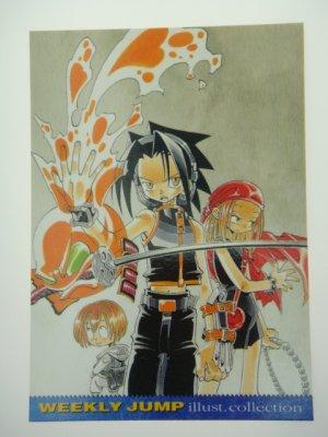 Japanese WEEKLY JUMP Shaman King Takei Hiroyuki Illust Collection Card J003