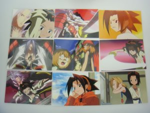 Japanese Shaman King Card x54 pages