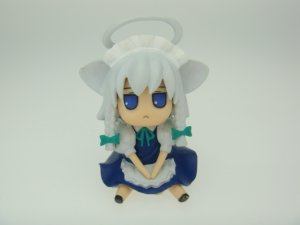 Japanese Touhou Project Sakuya Izayoi Inusakuya Blue Eyes ver Figure