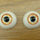 BJD Doll Acrylic Eyes 14 mm / 8 mm Size Blue Yellow