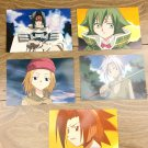 Japanese Anime Jump Shaman King Card x5 pages L004