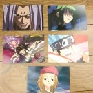 Japanese Anime Jump Shaman King Card x5 pages L008