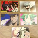 Japanese Anime Jump Shaman King Card x5 pages L015