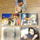 Japanese Anime Jump Shaman King Card x5 pages L017