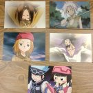 Japanese Anime Jump Shaman King Card x5 pages M002