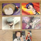 Japanese Anime Jump Shaman King Card x5 pages M008