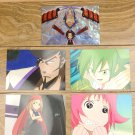Japanese Anime Jump Shaman King Card x5 pages M011