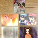 Japanese Anime Jump Shaman King Card x5 pages M013