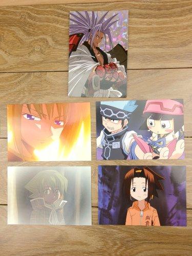 Japanese Anime Jump Shaman King Card x5 pages M013