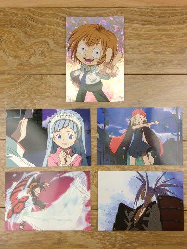 Japanese Anime Jump Shaman King Card x5 pages M019