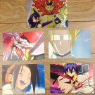 Japanese Anime Jump Shaman King Card x5 pages M026