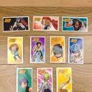 Japanese TOMY Shaman King Menko Megamen Card x10 pages N001