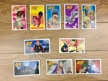 Japanese TOMY Shaman King Menko Megamen Card x10 pages N002