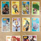 Japanese TOMY Shaman King Menko Megamen Card x10 pages N003