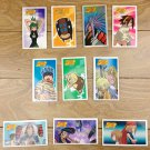 Japanese TOMY Shaman King Menko Megamen Card x10 pages N011