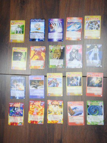Japanese TOMY Shaman King Card Game Card x20 pages O004