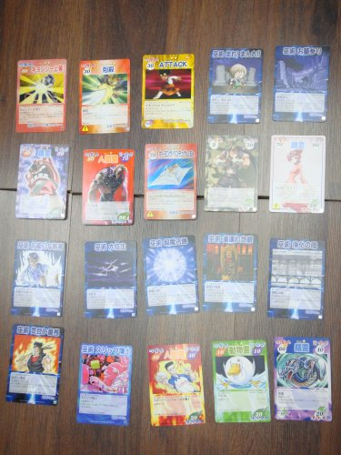 Japanese TOMY Shaman King Card Game Card x20 pages O007