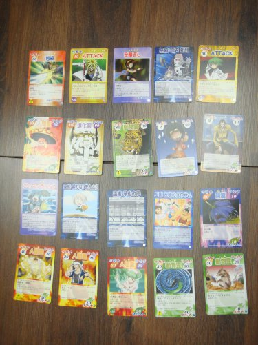 Japanese TOMY Shaman King Card Game Card x20 pages O008