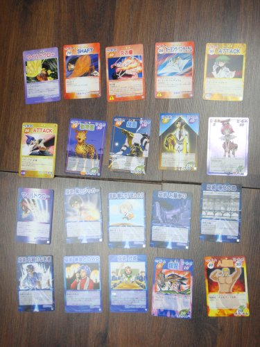Japanese TOMY Shaman King Card Game Card x20 pages O031