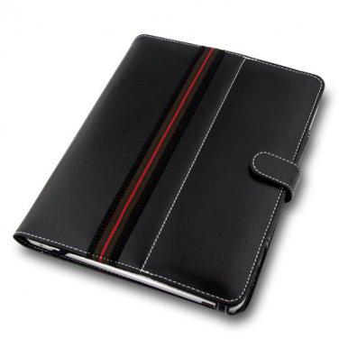 Naztech Black Elegant Book Style Case for Apple iPad 1,2,3rd,4th Gen.