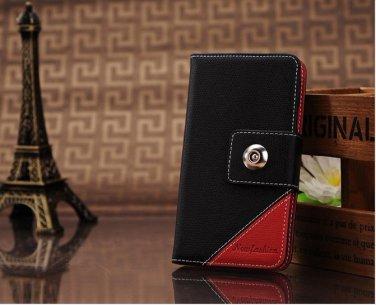 Red/Black Leather case Samsung Galaxy 3 i9300