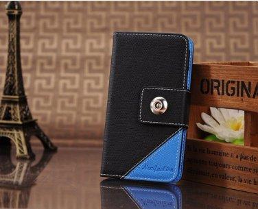 Blue/Black Leather case Samsung Galaxy 3 i9300