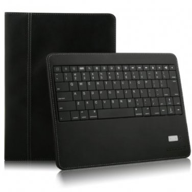 iPad 2, 3,4 Black Portfolio Detachable Bluetooth Keyboard