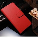 NEW! Red Leather Stand Wallet Magnetic Close for Iphone 6 (4.7)