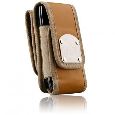 Brown Gladiator Heavy Duty Belt Clip Case for iPhone 5 & 6