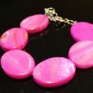 3 Years: Hot Pink Shell Baby & Toddler Bracelet