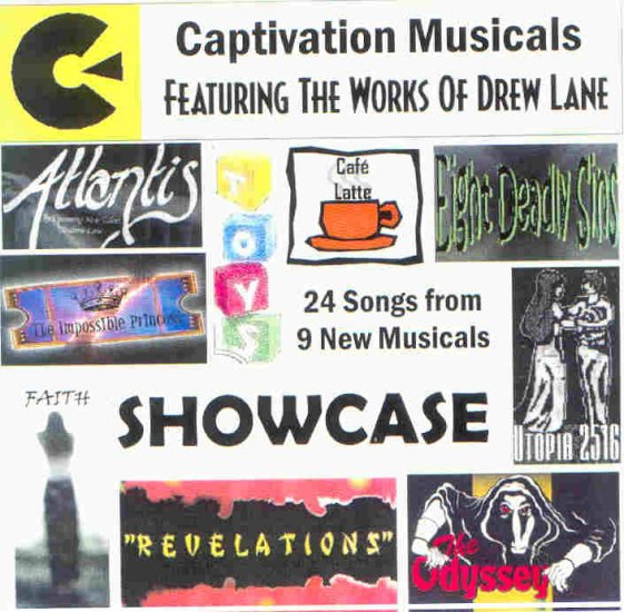 Captivation Musicals Showcase 2002 CD