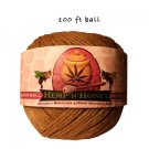 Single Hemp 'n' Honey 100 ft sharing size ball