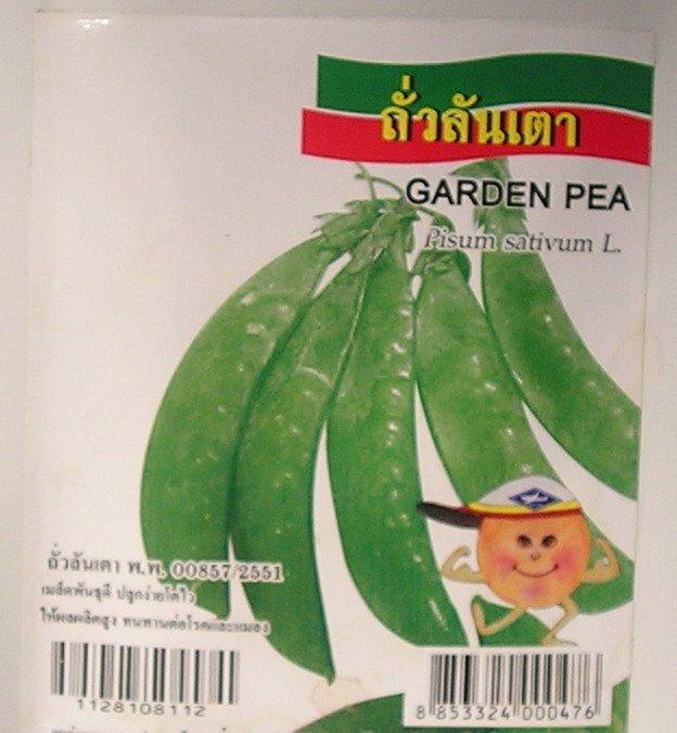 Garden Pea - Vegetable Seeds