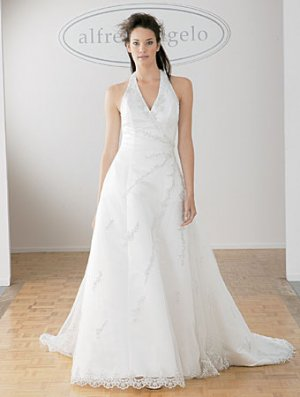 Wedding Dress Halter 1587