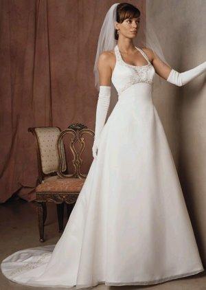 Wedding Dress Halter 1711