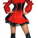 Vixen Pirate Costume Red or Yellow