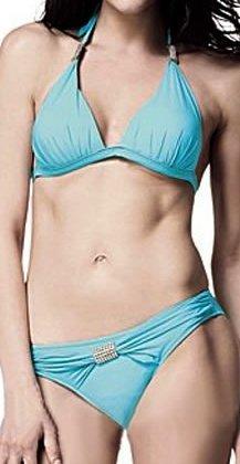 2pc Designer Bikini (Blue,Black,Red)