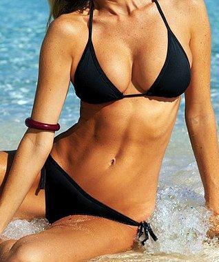 Hot Babe Satin Beach Bikini in 10 Colors