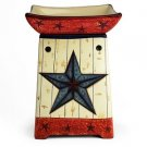 Primitive Star Americana Tart Warmer
