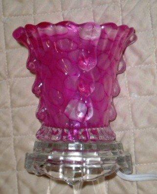 Pink Teardrops Electric Oil Warmer
