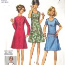 70s Princess Dress Vintage Pattern Simplicity 8889 Bust 37