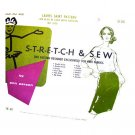 Stretch & Sew 400 Vintage 60s Slim Skirt Sewing Pattern Size 32 To 40 Hip
