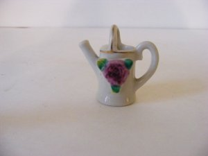 OCCUPIED JAPAN-RARE-PICCO-SMALL FLORAL WATERING POT