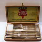 ANTIQUE-RARE-COLLECTIBLE - 12PC. KEEN KUTTER SILVER