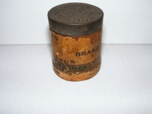 VINTAGE-RARE-ANCHOR BRAND SNUS CAN- H. BOLANDER CO. IL.