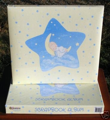 """Precious Moments"" Scrapbook Album from SANDYLION (Baby Boy)"