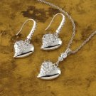 Heart&quot; Exquisite 29 CZ(Zircon) Jewelry Set