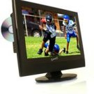 "Supersonic SC-190 19"" LCD TV with Built-in ATSC Digital TV tuner, DVD Player"